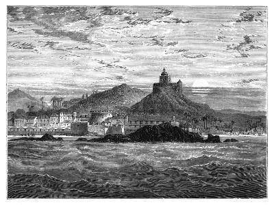 Cape Coast Castle, Gold Coast, West Africa, C1890--Giclee Print