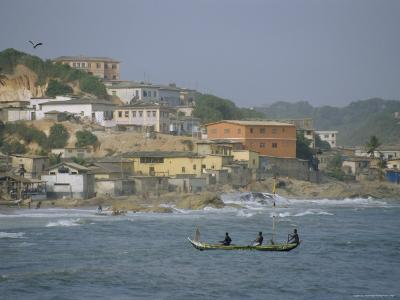 Cape Coast, Ghana, Africa-David Poole-Photographic Print