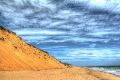 Cape Cod Dune and Colors 2-Robert Goldwitz-Photographic Print