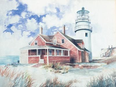Cape Cod Light House-Gregory Gorham-Art Print