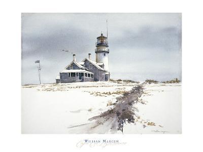 Cape Cod Lighthouse-William Mangum-Art Print