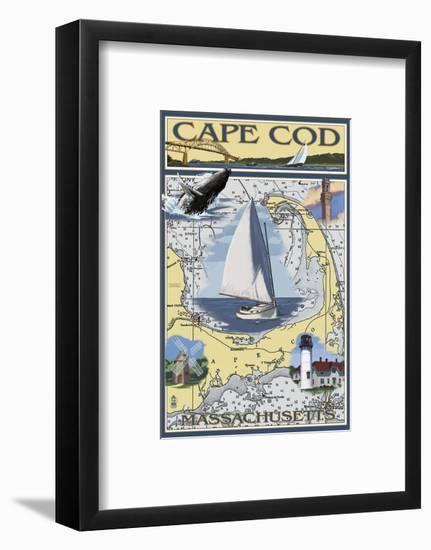 Cape Cod-Lantern Press-Framed Art Print
