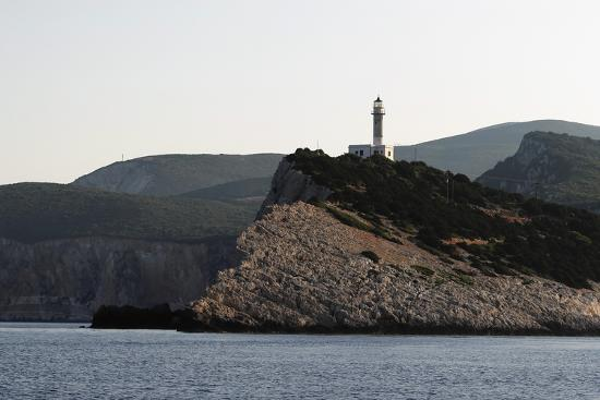 Cape Dhoukatou Lighthouse, Greece-George Oze-Photographic Print