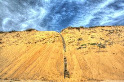 Cape Dune and Stairst-Robert Goldwitz-Photographic Print