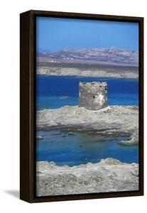 Cape Falcone Tower or Pelosa Tower, Sardinia, Italy