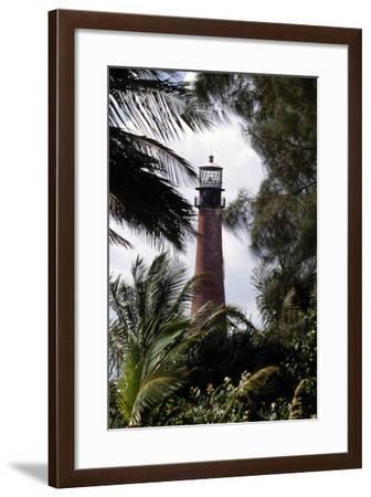 Cape Florida Lighthouse, 1989--Framed Photographic Print