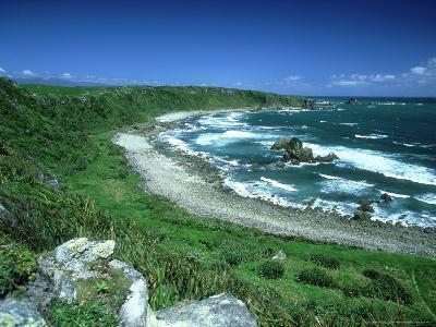 Cape Foulwind, New Zealand, Named by Captain Cook-Robin Bush-Photographic Print
