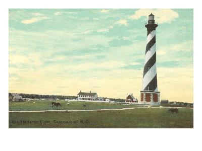 Cape Hatteras Lighthouse, North Carolina--Art Print