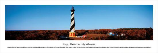 Cape Hatteras Lighthouse-James Blakeway-Art Print