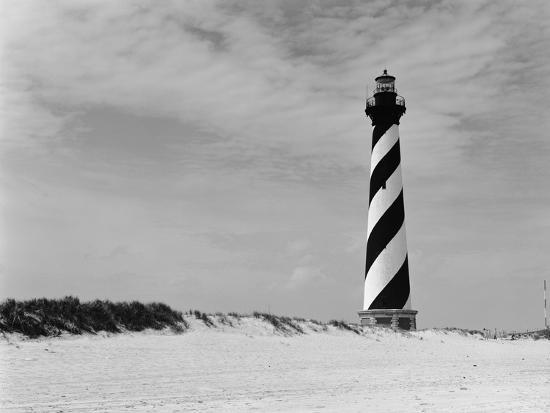 Cape Hatteras Lighthouse-GE Kidder Smith-Photographic Print
