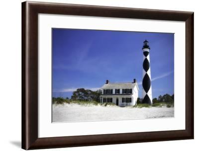 Cape Lookout Light I-Alan Hausenflock-Framed Photographic Print