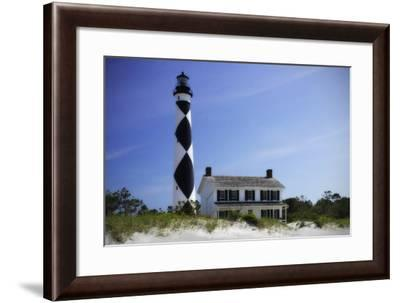 Cape Lookout Light II-Alan Hausenflock-Framed Photographic Print