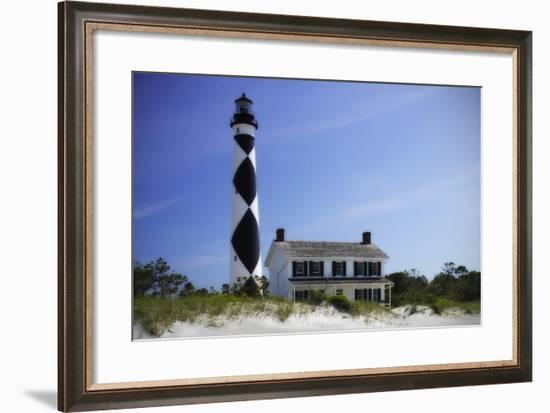 Cape Lookout Light II-Alan Hausenflock-Framed Photographic Print