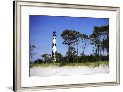 Cape Lookout Light III-Alan Hausenflock-Framed Photographic Print