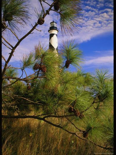 Cape Lookout Light, Prototype For All Outer Banks Lighthouses-Raymond Gehman-Photographic Print