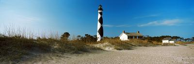 Cape Lookout Lighthouse, Outer Banks, North Carolina, Usa--Photographic Print