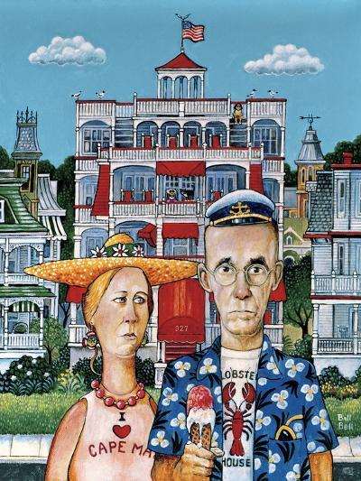 Cape May Gothic-Bill Bell-Giclee Print