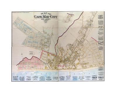 Cape May, NJ-1886-Bill Cannon-Giclee Print