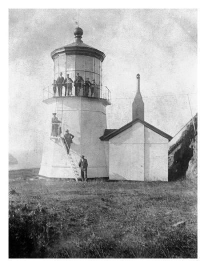 Cape Meares Lighthouse, Oregon No.2-Lantern Press-Art Print