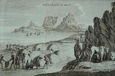 Cape of Good Hope from Travels Towards Asia by Abraham Bogaert, 1711--Giclee Print