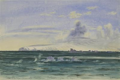 Cape Philips from Off Coulman Island, 13 Jan, 1902-Edward Adrian Wilson-Giclee Print