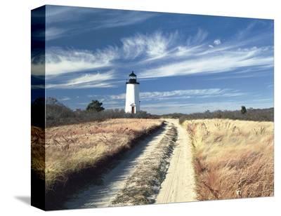 Cape Poge Lighthouse-Rezendes-Stretched Canvas Print