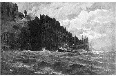 Cape Raoul, Tasmania, Australia, 1886--Giclee Print