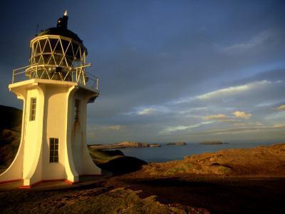 Cape Reinga Lighthouse, New Zealand-Karen Gowlett-holmes-Photographic Print