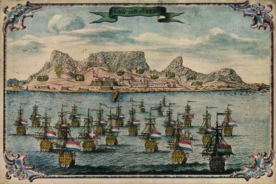'Cape Town', c1680-Unknown-Giclee Print