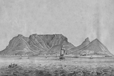 Cape Town Cape of Good Hope, c1830--Giclee Print