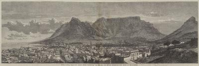Cape Town, Cape of Good Hope, Recently Visited by His Royal Highness the Duke of Edinburgh--Giclee Print