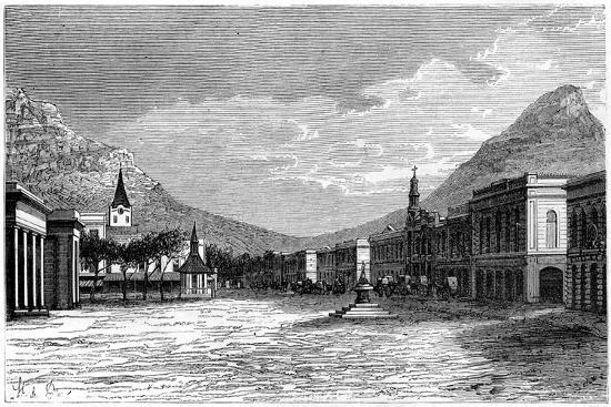 Cape Town, South Africa, 19th Century- St de Dree-Giclee Print
