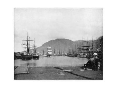 Cape Town, South Africa, Late 19th Century-John L Stoddard-Giclee Print