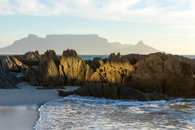 Cape Town, Table Mountain, Bloubergstrand-Catharina Lux-Photographic Print