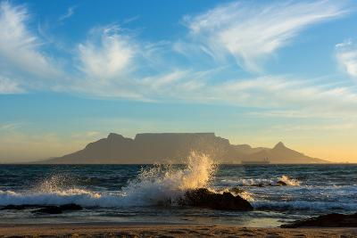 Cape Town, Table Mountain, Coast-Catharina Lux-Photographic Print
