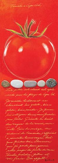 Capecod Tomato-Chantal Godbout-Art Print
