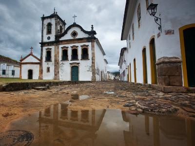 Capela De Santa Rita, An Old Historic Church in Paraty-Alex Saberi-Photographic Print