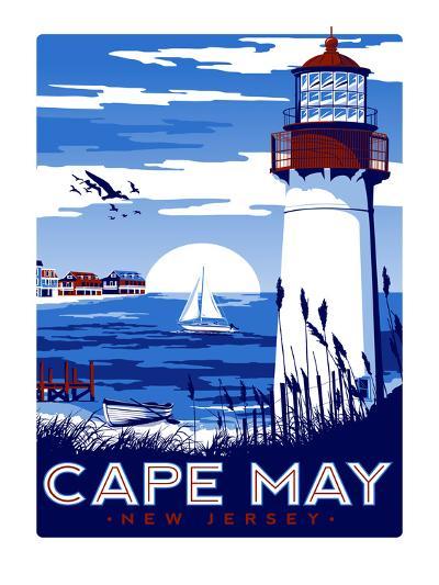 Capemay-Matthew Schnepf-Art Print