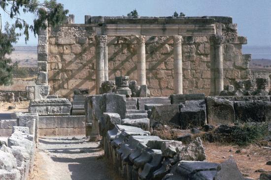 Capernaum Temple, 5th century-Unknown-Photographic Print