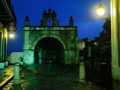 Capilla El Cristo in Old Town, San Juan, Puerto Rico-John Elk III-Photographic Print