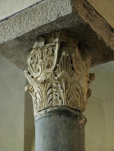 Capital of Column, Church of San Giovanni Mare, Gaeta, Lazio, Italy, 10th Century--Giclee Print