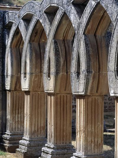 Capitals of Cloister of San Juan De Duero Monastery in Soria, Castile and Leon, Spain, 12th Century--Giclee Print