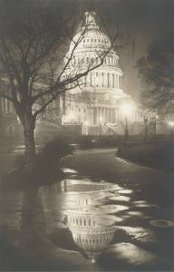 Capitol at Night, Washington, D.C.