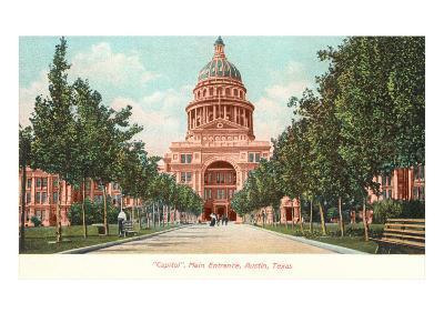 Capitol Building at Austin, Texas--Art Print