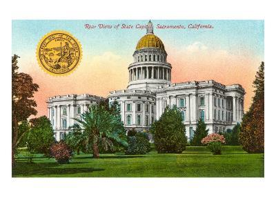 Capitol Building, Sacramento--Art Print