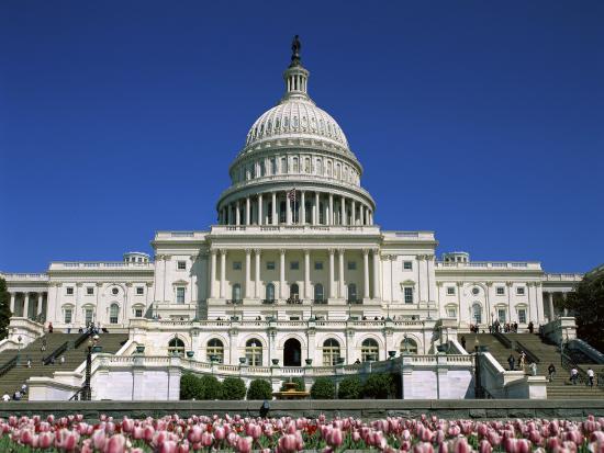 Capitol Building Washington, D.C. USA--Photographic Print