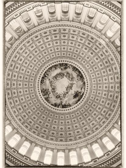 Capitol Rotunda-Lillis Werder-Premium Photographic Print