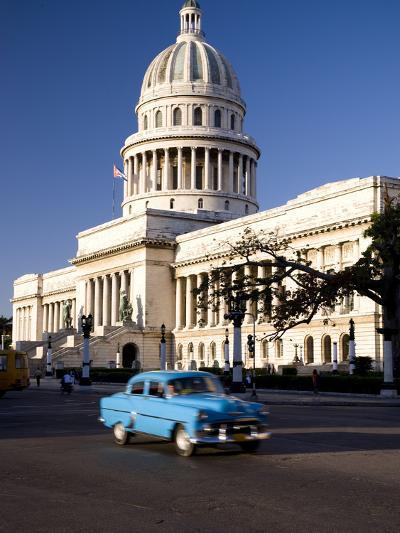 Capitolio, Central Havana, Cuba, West Indies, Central America-Ben Pipe-Photographic Print