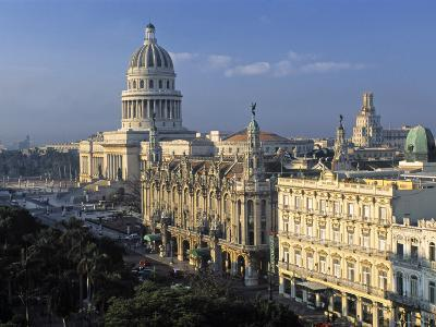 Capitolio National Building, Havana, Cuba-Gavin Hellier-Photographic Print