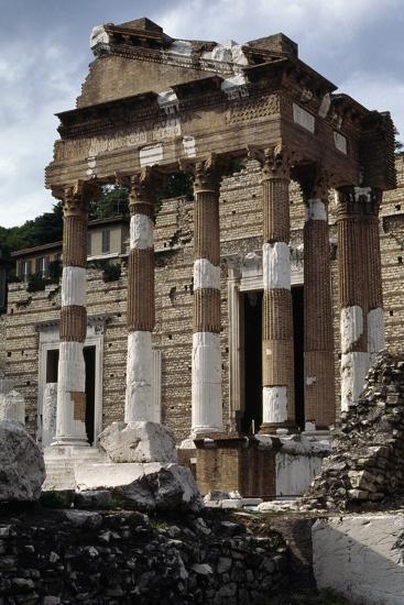 Capitolium or Capitoline Temple--Photographic Print